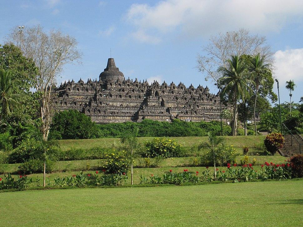 001 View of Borobudur