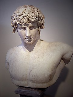 Antinous Greek favourite of the Roman emperor Hadrian