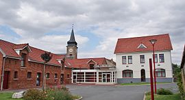 The town hall of Bailleul-Sir-Berthoult
