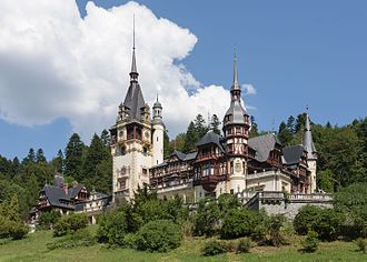 Peleș Castle - Peleș Castle in summer