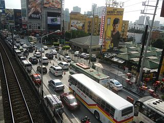 Traffic in Metro Manila