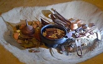 Przeworsk culture - Image: 0280 Vandalic cremation graves, 2nd c. AD