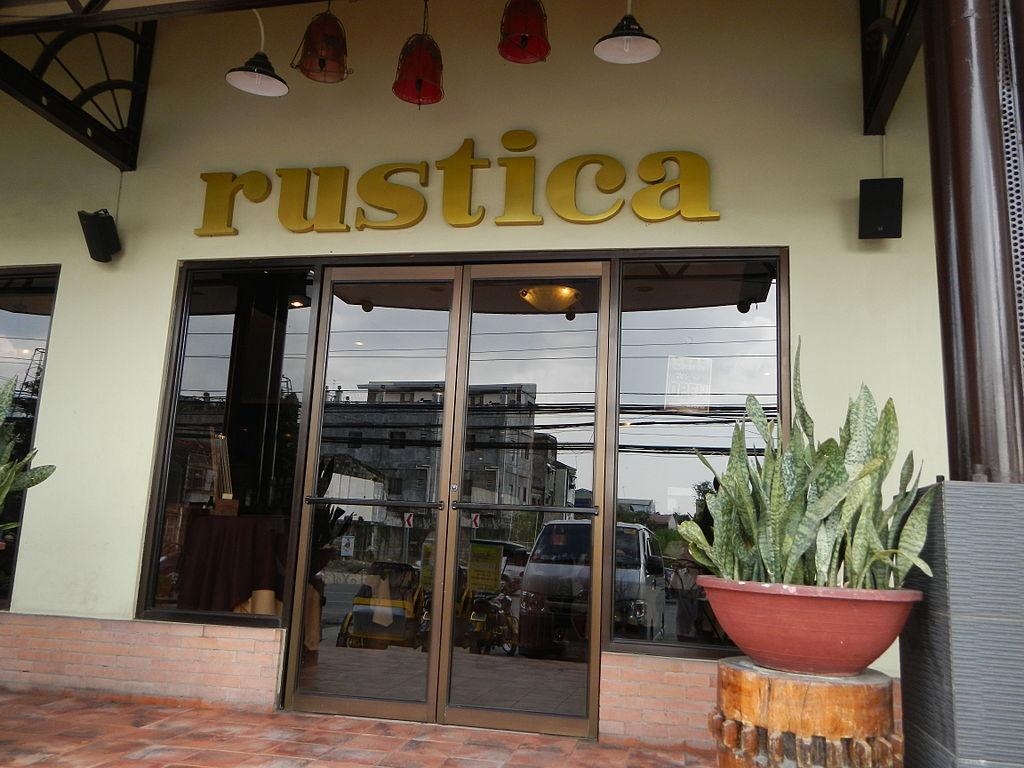 Rustica Restaurant Newcastle Menu