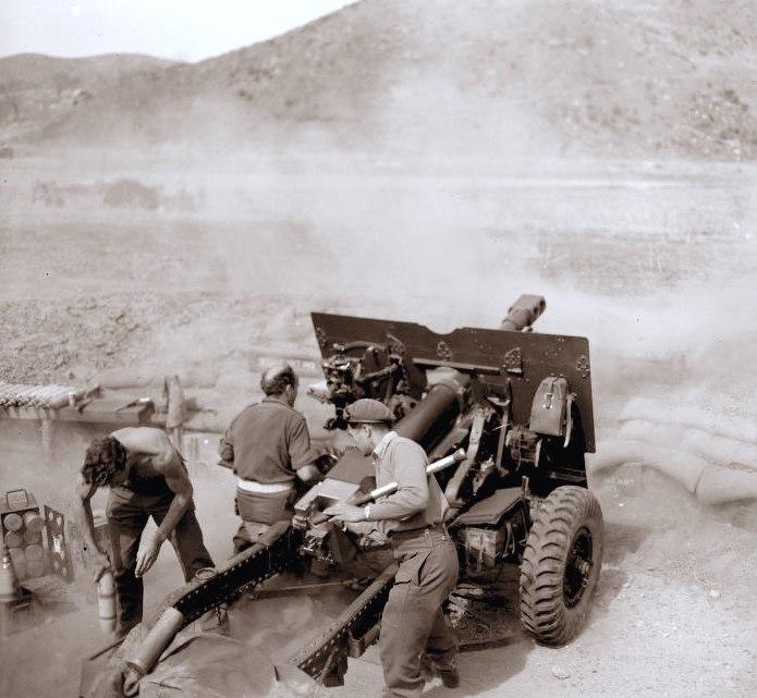 02 Dad in action april1952 Korea sepia