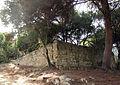 058 Parc de l'Oreneta, restes del castell.jpg