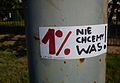 1% of the people. We do not want you! Poznan.jpg