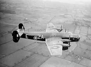No. 10 Squadron RAF - Image: 10 Squadron Halifax Mk II Dec 1941 IWM CH 443