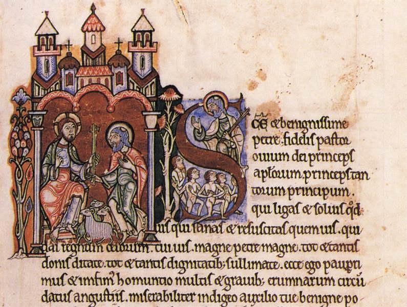 12th-century painters - Meditations of St Anselm - WGA15732