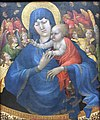 1410 Malouel Madonna mit Kind, Engeln und Schmetterlingen anagoria.JPG