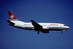 147aa - Air Malta Boeing 737-3Y5, 9H-ABR@ZRH,18.08.2001 - Flickr - Aero Icarus.jpg