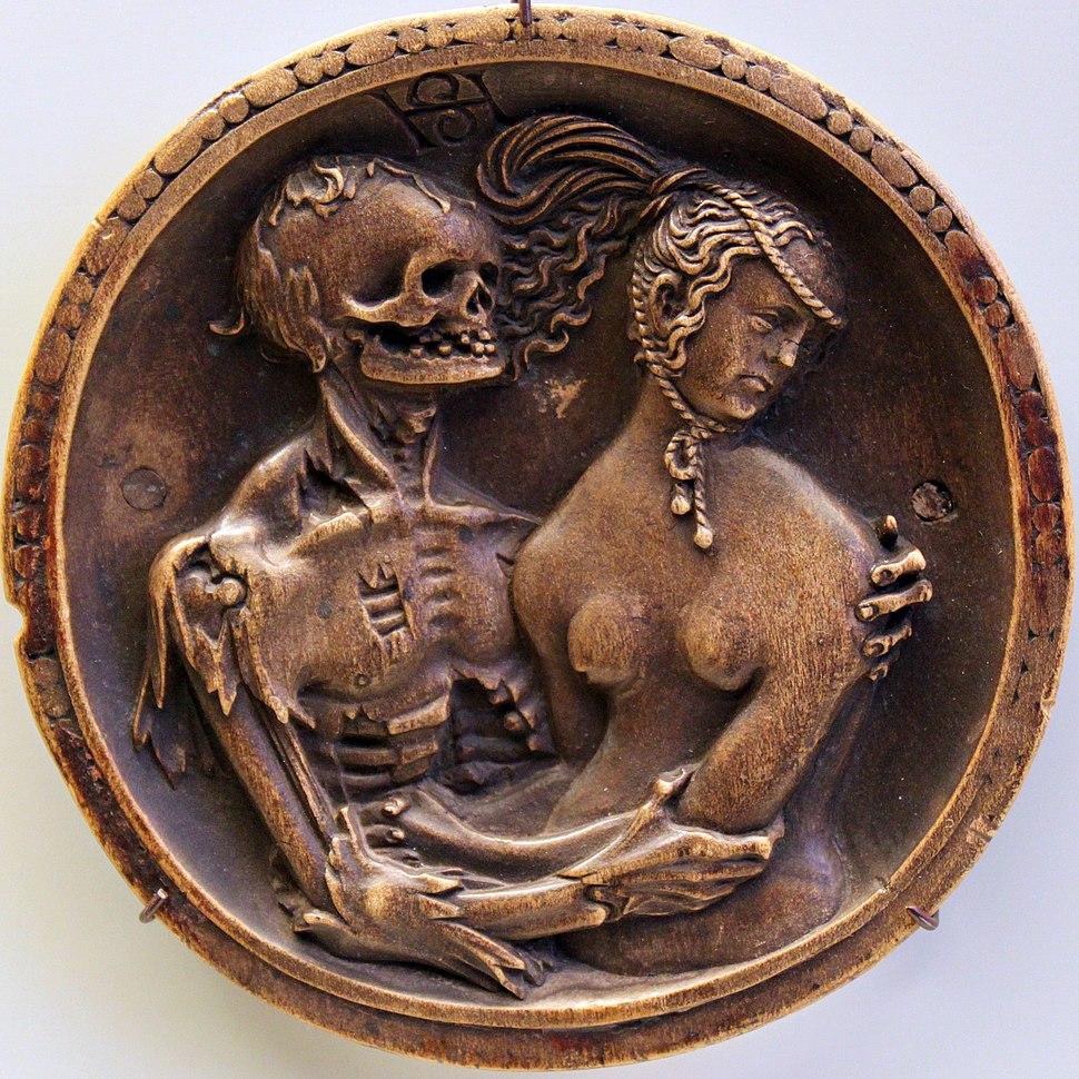1520 Schwarz - Death and the Maiden anagoria