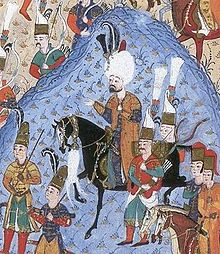 Suleiman during the Siege of Rhodes in 1522