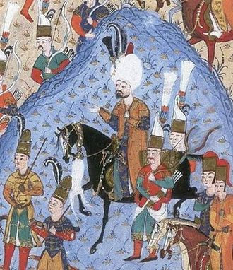 Suleiman the Magnificent - Suleiman during the Siege of Rhodes in 1522