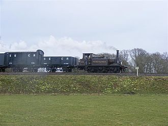 Lisztomania (film) - This nineteenth century steam engine on the Bluebell Railway was featured in the film