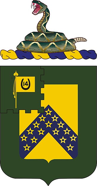 16th Cavalry Regiment - Coat of Arms of the 16th Cavalry Regiment