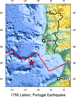 1755 Lisbon earthquake