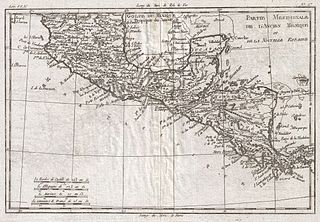 File:1780 Raynal and Bonne Map of Central America and ...