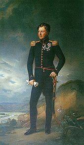 König Wilhelm I. von Württemberg im Jahr 1822 (Quelle: Wikimedia)