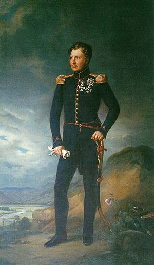 William I of Württemberg - King William in 1822