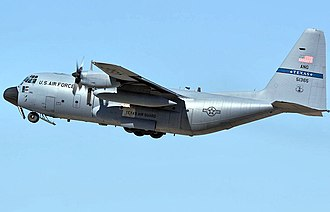 181st Airlift Squadron - 181st Airlift Squadron Lockheed C-130H-LM Hercules 85-1365