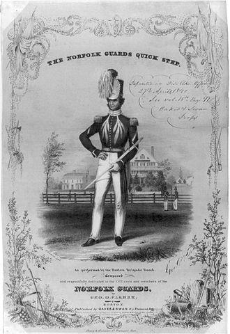 Boston Brigade Band - Norfolk Guards Quick Step, 1840