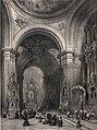 1842, España artística y monumental, vistas y descripción de los sitios y monumentos más notables de españa, vol 1, Interior de la capilla de San Isidro en la parroquia de San Andrés de Madrid (cropped).jpg
