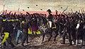 1853, Los mártires de la libertad española, vol II, Riego conducido por los realistas á la cárcel de la Carolina (cropped).jpg