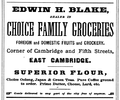 1878 Blake advert Cambridge Massachusetts.png