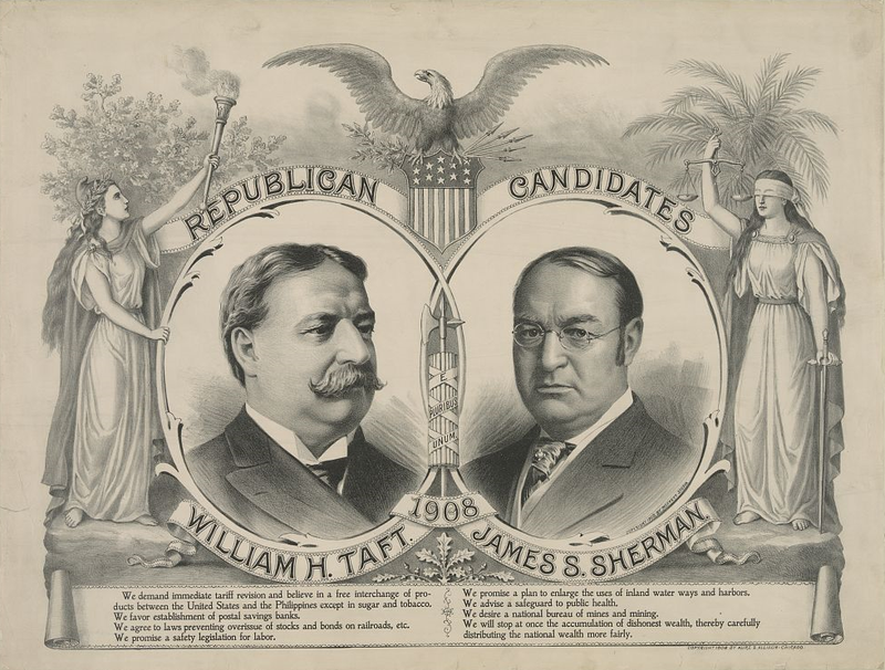 United States Presidential Election 1908 Wikiwand