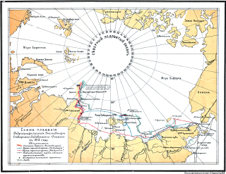 1910s Russian sea expedion