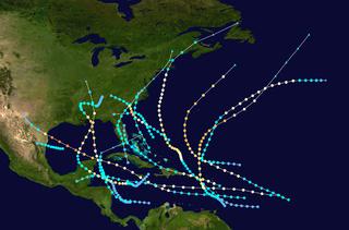 1916 Atlantic hurricane season hurricane season in the Atlantic Ocean