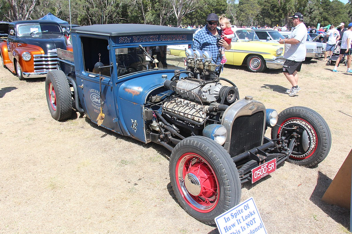 File:1928 Ford Model A Hot Rod Lincoln (25247792582).jpg ...