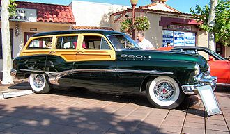 Buick Roadmaster - 1950 Buick Roadmaster Estate wagon