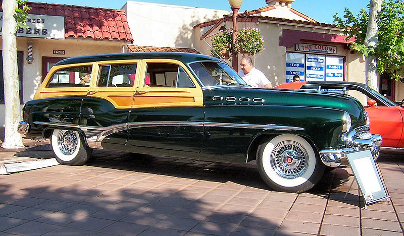 1996 Buick Roadmaster Estate Wagon. 1950 Buick Roadmaster Estate