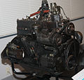 1953 Nissan Model NB engine right.jpg