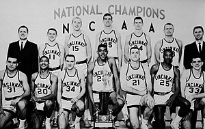 1960 61 Cincinnati Bearcats Mens Basketball Team