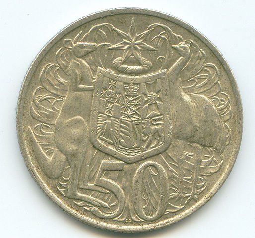 Australian 50 cent piece