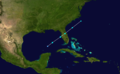 1974 Atlantic subtropical storm 1 track.png