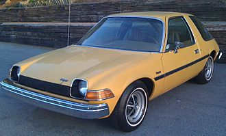 AMC Pacer - 1975 AMC Pacer base model hatchback coupe