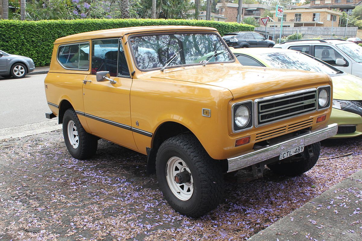 International Harvester Scout Wikipedia