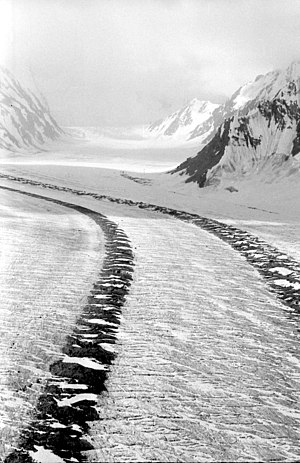Fedchenko Glacier - Fedchenko Glacier in 1982 by Jaan Künnap during expedition to Tartu Ülikool 350.