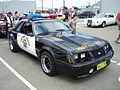 1983 Ford Mustang Police Interceptor coupe (5410386552).jpg