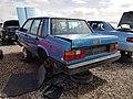 1985 Volvo 740 Turbo - rear - Flickr - dave 7.jpg