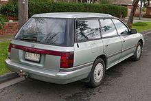 1989 1991 Subaru Legacy GX 4WD Wagon