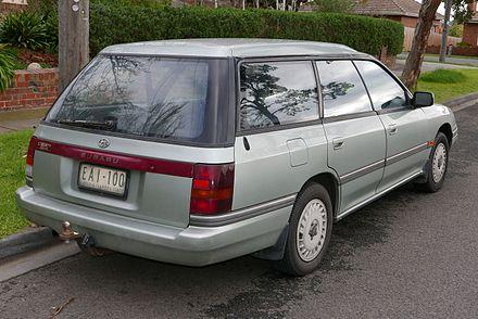 Subaru legacy first generation wikiwand 19891991 subaru legacy gx 4wd wagon australia fandeluxe Images
