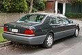 1992 Mercedes-Benz 500 SEL (V 140) sedan (2015-07-24) 02.jpg