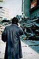 1995-1-17 Hanshin-Awaji earthquake 1995,Hankyu Sannomiya.jpg