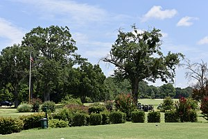 National Register of Historic Places listings in Bibb County, Georgia - Image: 1st. Hole Charles L.. Bowden Golf Course