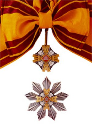 Order of the Lithuanian Grand Duke Gediminas - Image: 1st Class Order of the Lithuanian Grand Duke Gediminas