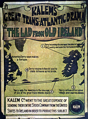 The Lad from Old Ireland - Image: 2. Lad from Old Ireland advert